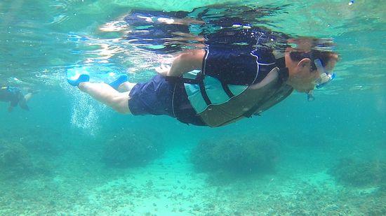 I澤さんも相変わらずの泳ぎっぷりです
