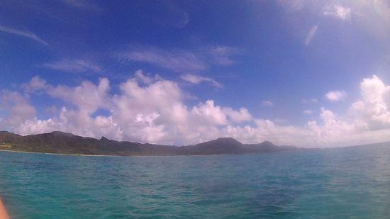 三連休初日は、快晴の石垣島です。