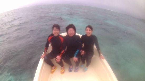 リピーターN澤さんんとK清さんとM本さんです