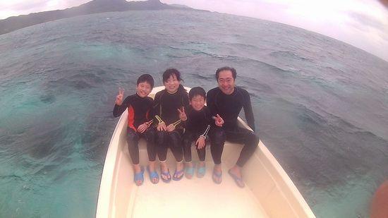 N田さんご家族です
