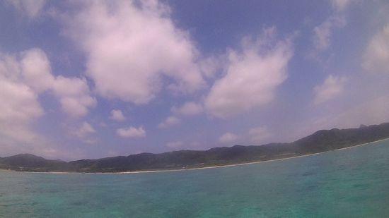 今日も晴れ!日焼け日和の石垣島です