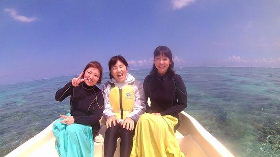 ぶらり女子旅のK田さんとS上さんとM井さんです