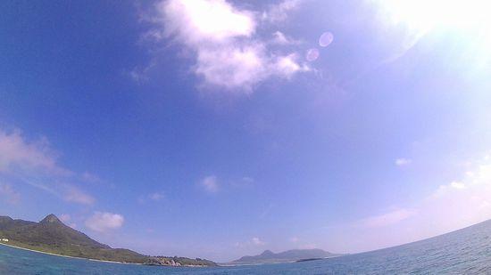 教科書通りの夏日の石垣島です