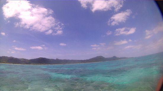 絶好調の快晴の石垣島です