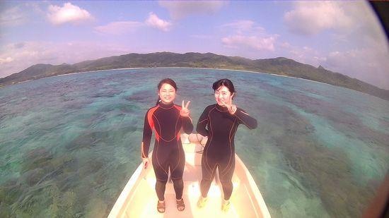 女子旅石垣島旅行お二人です
