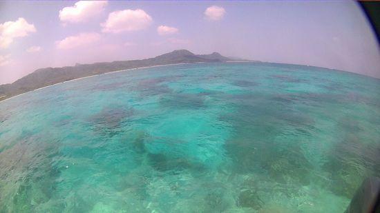 本日快晴、シュノーケル日和の石垣島です。