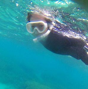 三世代でシュノーケル!ちびっこもおばあちゃんも海を満喫でしたっ!