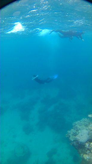 断崖絶壁!水深5mラインへドボンです