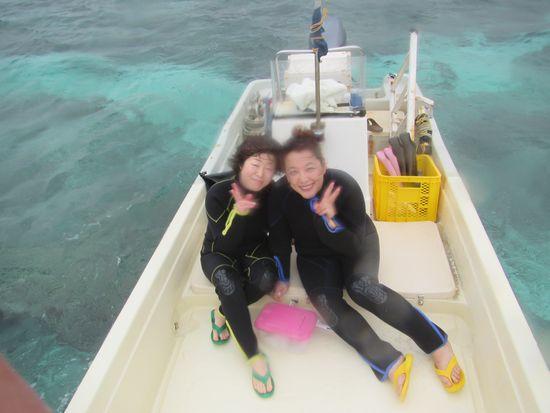 ぶらり女子旅でお越しのO西さんとT村さんです。