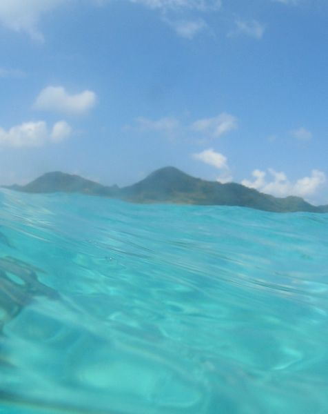 いつもの景色を海からみるのは面白い!