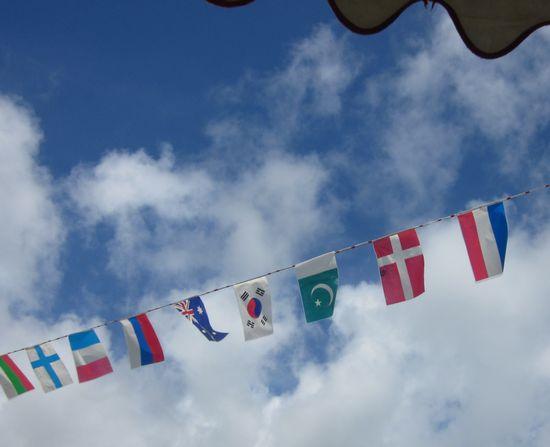 万国旗といえば、