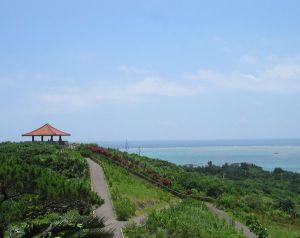 玉取崎展望台 太平洋と東シナ海を見れる観光スポット