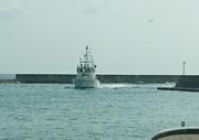 伊野田漁港に海上保安庁