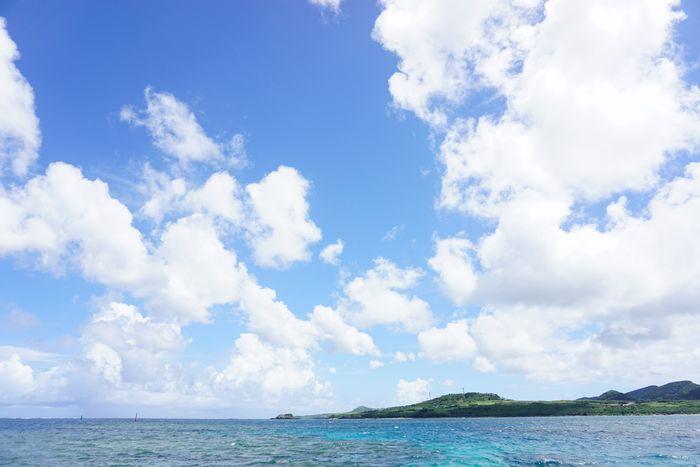 夏空広がる石垣島