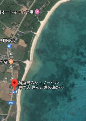 事務所すぐ裏のビーチ
