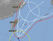 台風15号。今年は多いです。