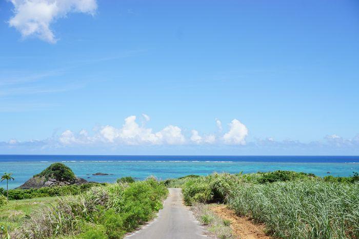 青い空、青い海♪最高です