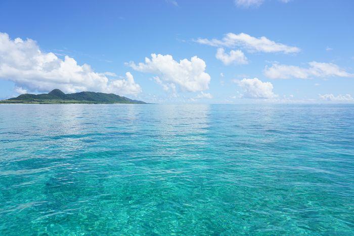 そんな日はプールのような海が広がります♪