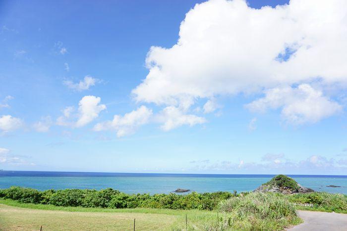 穏やかな海、最高です