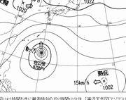 台風23号。その次の熱帯低気圧も少し心配だなぁ