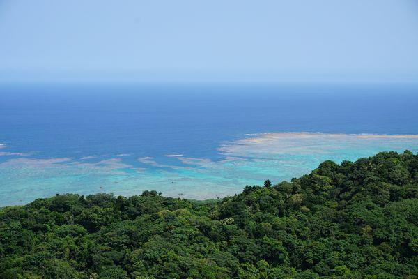 石垣島の海はきれいです