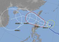 台風20号さん、石垣島への影響は