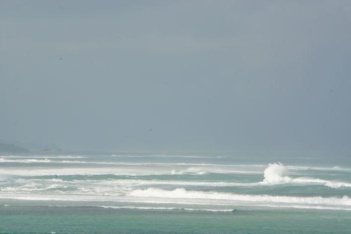 こちら、昨日の台風のうねり具合です。