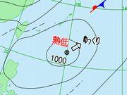 台風になりそうで。。。