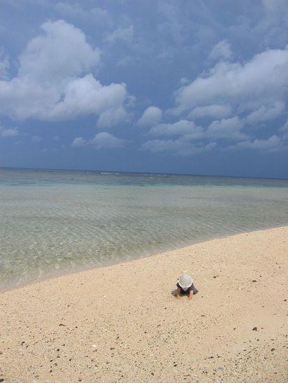 解放感を楽しむビーチシュノーケル