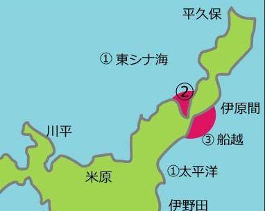 石垣島マップ 玉取崎